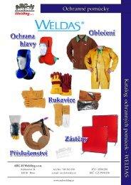 Ochranné pomůcky Katalog ochranných pomůcek - WELDAS