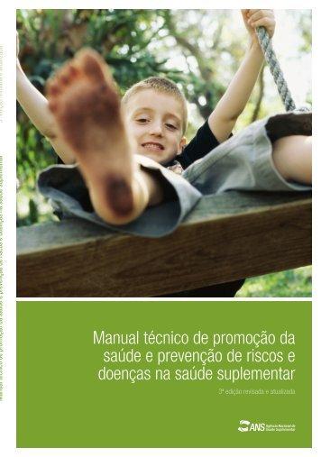 Manual técnico de promoção da saúde e prevenção de ... - fenaess