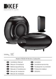 Model HTB2SE-W Wireless Subwoofer - SpeakerPoint