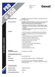 Opis proizvoda Karakteristike proizvoda Tehnički podaci - Master
