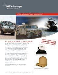 X46-V XOTM Antenna System - DRS Technologies