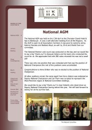 April 2013 - UK Housekeepers Association