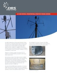 ZA-4508 Tactical Transportable Direction Finding (DF) Antenna