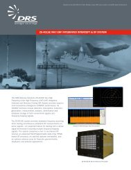 ZS-4015E VHF/UHF INTEGRATED INTERCEPT & DF SYSTEM