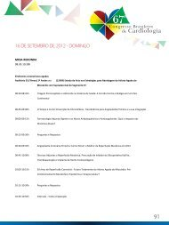 16 de setembro 2012 - 66 Congresso Brasileiro de Cardiologia