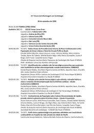 06 de setembro de 2008 - 66 Congresso Brasileiro de Cardiologia