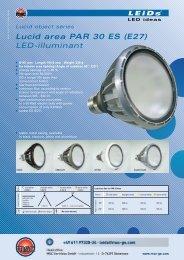 Lucid area PAR 30 ES (E27) LED-illuminant