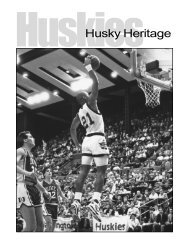 Heritage Section 1 - GoHuskies.com