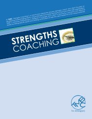 strengths coaching - Marcus Buckingham