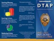 Printable DTAP Brochure - Pima County Attorney