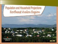 Population and Household Projections - Economic Research