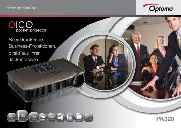 Beeindruckende Business-Projektionen, direkt aus Ihrer ... - Optoma