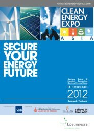Thailand's Renewable Energy Development Plan - Clean Energy ...