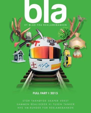bla - Et blad fra Reklamebanken