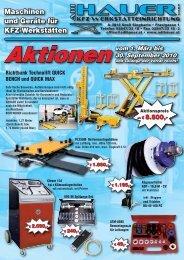 Aktionen vom 1. März bis 30. September 2010 - ADI HAUER GmbH
