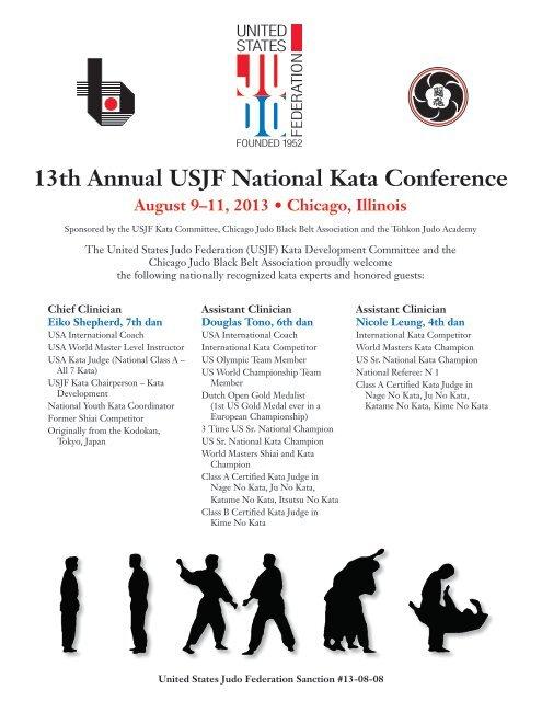 13th Annual USJF National Kata Conference - Kimura Judo Club
