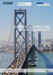 DIE SINGLE BUSINESS ENTITY (SBE) - TPA Global