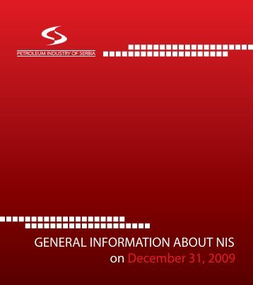 General information on NIS for 2009