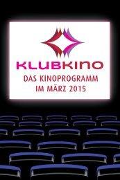 Klubkino Programm März 2015