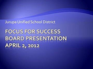 Focus for Success.pdf - Jurupa Unified School District