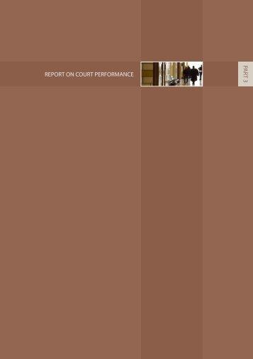 Report on Court Performance - Family Court of Australia