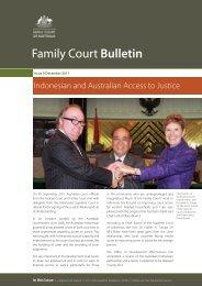 Open PDF - Family Court Bulletin - December 2011 - Size