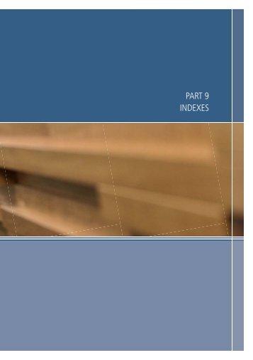 View Part 9 - Indexes (PDF Size - 267 KB) - Family Court of Australia