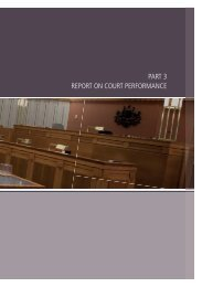 View Part 3 - Report on Court Performance (PDF Size - 427 KB)