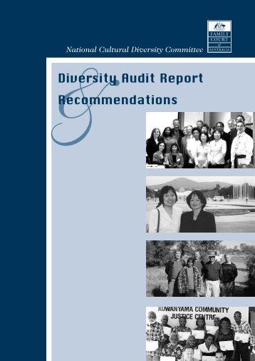 Diverstiy Audit Report - Family Court of Australia