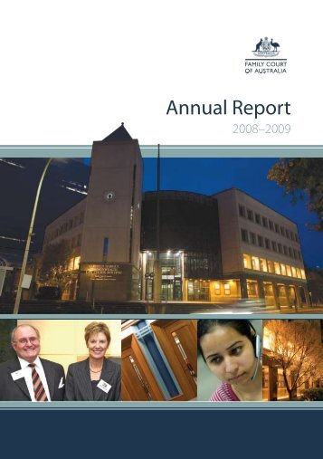 View the Introduction (PDF Size - 500 KB) - Family Court of Australia