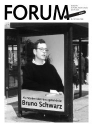 FORUM /197/ März 99 - SP Uster
