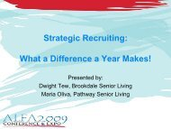 Strategic Recruiting: What a Difference a Year Makes!