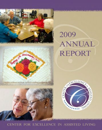 CEAL's 2009 Annual Report - Assisted Living Federation of America