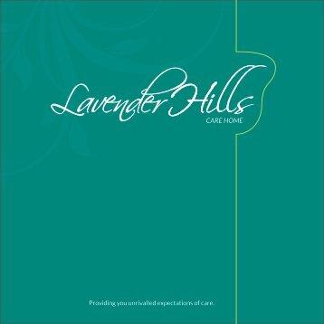 Lavender-Booklet