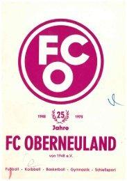 25 Jahre FC Oberneuland