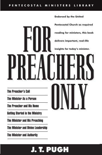J. T. PUGH - Pentecostal Publishing House
