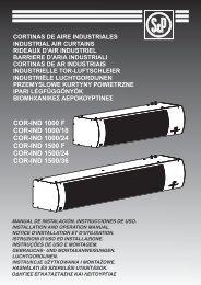 COR-IND 1000 F COR-IND 1000/18 COR-IND 1000 ... - Klimats24.lv