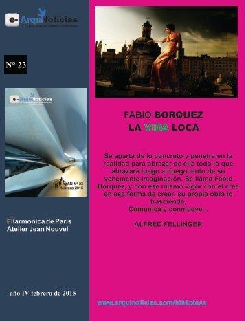 e-AN N° 23 nota N° 6 Fabio Borquez La vida loca