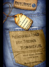 Page 1 Page 2 Wear Blue Jeans on World Pneumonia Day 'Why ...