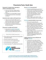 Global Fact Sheet-draft 3 - World Pneumonia Day