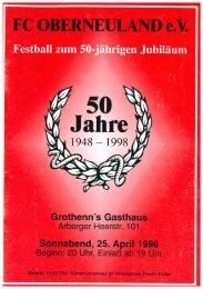 50 Jahre FC Oberneuland
