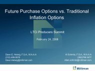 future purchase options versus traditional - Long Term Care Insurance