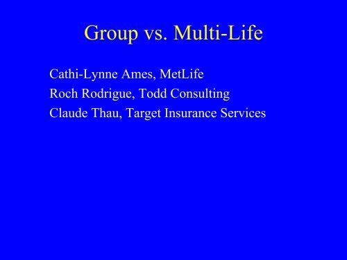 Why do YOU care about LTCI ethics? - Long Term Care Insurance