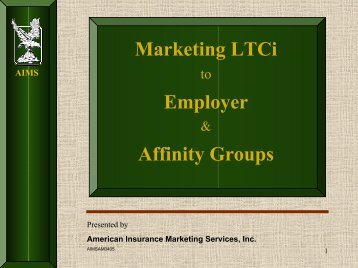 AIMS - Long Term Care Insurance