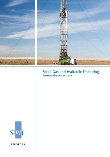 Shale Gas and Hydraulic Fracturing
