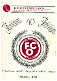 40 Jahre FC Oberneuland