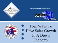 Four Ways To Have Sales Growth In A Down Economy - Long Term ...