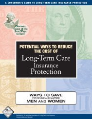 Long-Term Care Protection - Long Term Care Insurance
