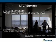 LTCi Summit - Long Term Care Insurance