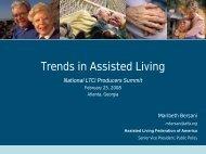 future regulations in assisted living - Long Term Care Insurance